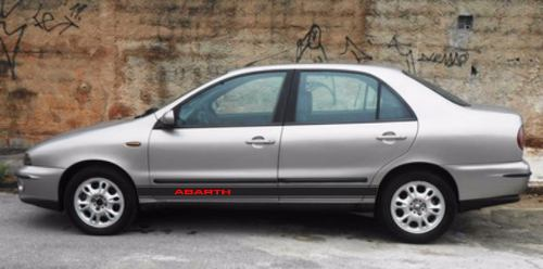 Adesivo Faixa Lateral Fiat Marea Marea03