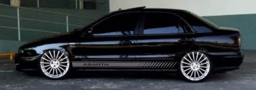 Adesivo Faixa Lateral Fiat Marea Marea08