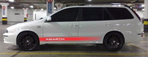 Adesivo Faixa Lateral Fiat Marea Mreaw04