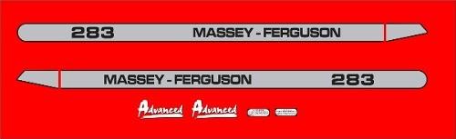 Kit Adesivos Massey Ferguson Mf283. Mod04