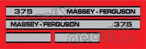 Kit Adesivos Massey Ferguson Mf375 375