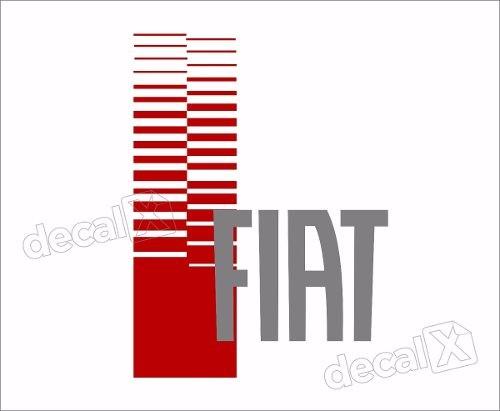 Adesivo Faixa Capo Fiat Uno Unoc18