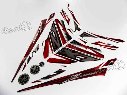 Kit Adesivos Xtz 125x 2014 Branca 10496