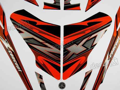 Kit Adesivos Xtz 125x 2014 Preta 10495