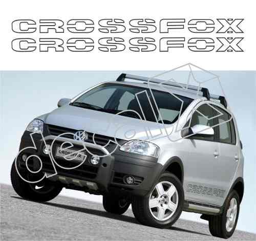 Adesivo Faixa Lateral Volkswagen Crossfox 2004 Cf001