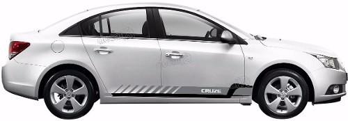 Adesivo Faixa Lateral Chevrolet Cruze Crz004