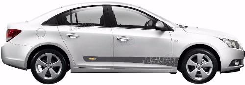 Adesivo Faixa Lateral Chevrolet Cruze Crz009