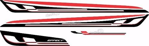 Kit Adesivo Faixa Chevrolet Onix Effect Branco Onix01