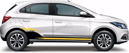 Kit Adesivo Faixa Chevrolet Onix Personalizado Onix04