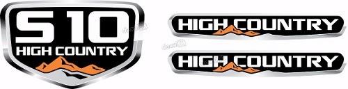 Kit Adesivo Faixa Chevrolet S10 High Country S10b02