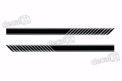 Adesivo Faixa Lateral Ford Focus Sedan Foc70