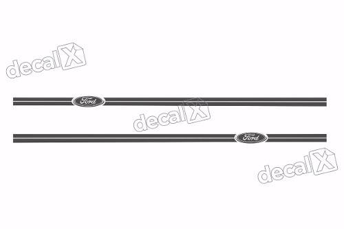 Adesivo Faixa Lateral Ford Fiesta Fst013