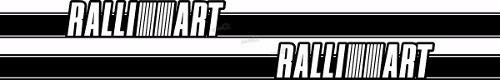 Adesivo Faixa Lateral Mitsubishi Lancer Ralliart Lc010
