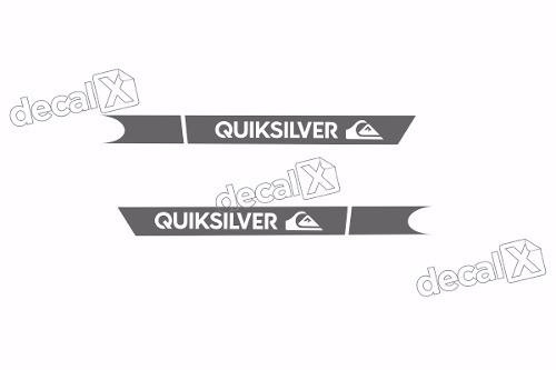 Adesivo Faixa Lateral Peugeot 206 Quiksilver Qks04