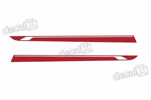 Adesivo Faixa Lateral Peugeot 208 20801