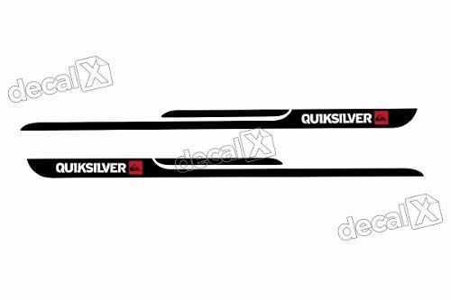 Adesivo Faixa Lateral Peugeot 206 Quiksilver Qks03