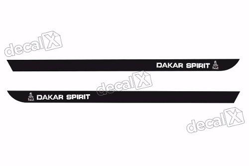 Adesivo Faixa Lateral Renault Duster Dakar Spirit Dstr07