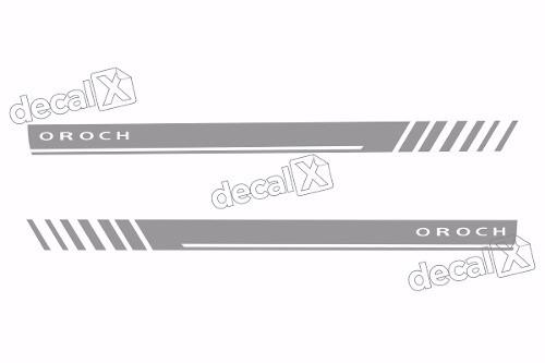 Adesivo Faixa Lateral Renault Duster Oroch Dstr10