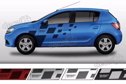 Adesivo Faixa Lateral Renault Sandero Sport Sdro85