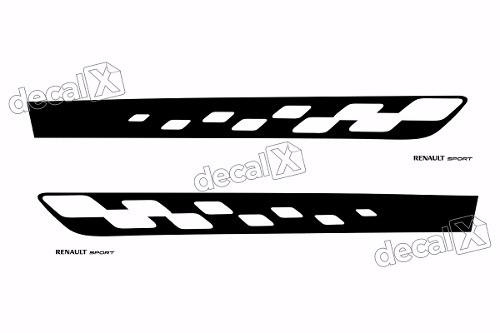 Adesivo Faixa Lateral Renault Sandero Sport Sdro80
