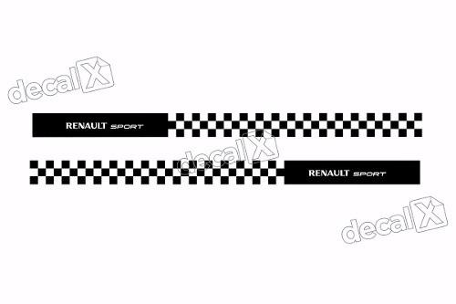 Adesivo Faixa Lateral Renault Sandero Sport Sdro92
