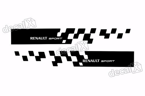 Adesivo Faixa Lateral Renault Sandero Sport Sdro91
