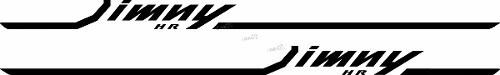Adesivo Faixa Lateral Suzuki Jimny Hr Jmny02