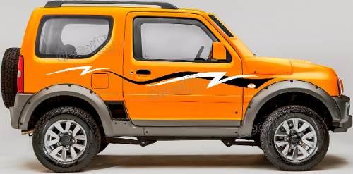 Adesivo Faixa Lateral Suzuki Jimny Jmny04