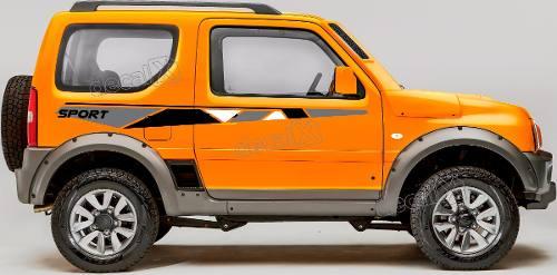 Adesivo Faixa Lateral Suzuki Jimny Sport Jmny09