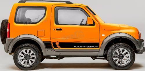 Adesivo Faixa Lateral Suzuki Jimny 4x4 Jmny08
