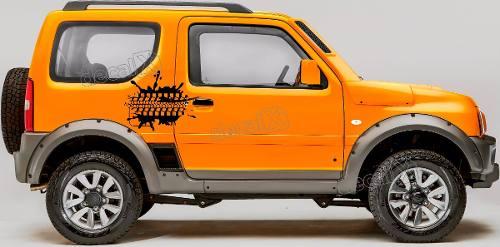 Kit Adesivo Lateral Suzuki Jimny Jmny10