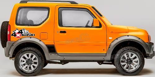 Kit Adesivo Suzuki Jimny 4x4 Jmny12