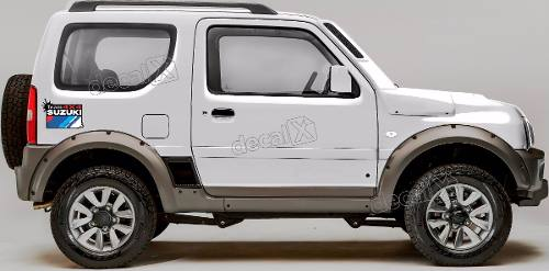 Kit Adesivo Suzuki Jimny Tean 4x4 Jmny11