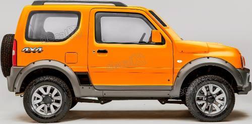 Kit Adesivo Suzuki Jimny 4x4 Jmny16