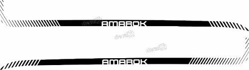Adesivo Faixa Lateral Volkswagen Amarok Ama92