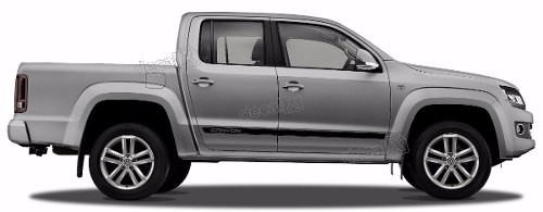 Adesivo Faixa Lateral Volkswagen Amarok Canyon Ama98