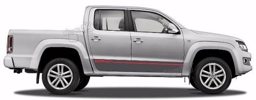 Adesivo Faixa Lateral Volkswagen Amarok Edition Ama94