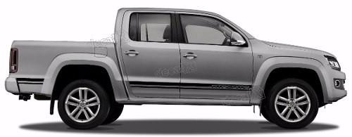 Adesivo Faixa Lateral Volkswagen Amarok Atacama Ama96