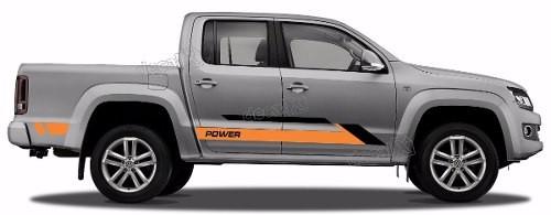 Adesivo Faixa Lateral Volkswagen Amarok Power Ama100