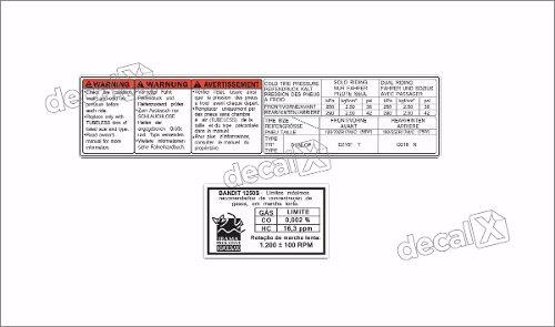 Kit Jogo Etiqueta Adesivo Suzuki Bandit 1250s Etad08