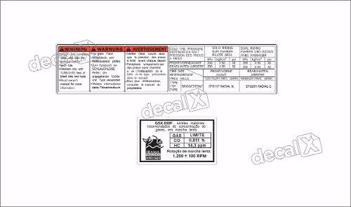 Kit Jogo Etiqueta Adesivo Suzuki Gsx 650f Etad09