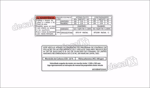 Kit Jogo Etiqueta Adesivo Suzuki Gsxr 750 Etad10