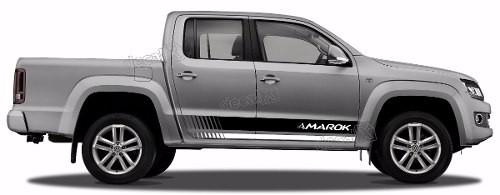 Adesivo Faixa Lateral Volkswagen Amarok Ama103