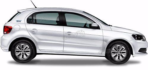 Adesivo Lateral Coluna Volkswagen Gol Fun Gol02