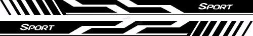 Adesivo Faixa Lateral Volkswagen Gol G6 Sport Gol01