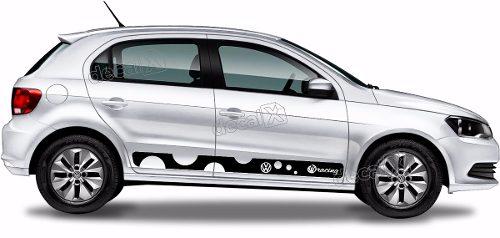 Adesivo Faixa Lateral Volkswagen Gol G6 Gol04