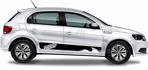 Adesivo Faixa Lateral Volkswagen Gol Surf Gol15