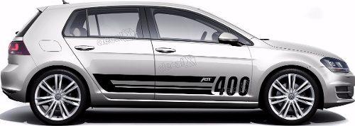 Adesivo Faixa Lateral Volkswagen Golf Abt 400 Golf05