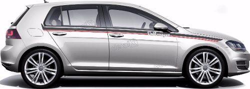 Adesivo Faixa Lateral Volkswagen Golf Golf07
