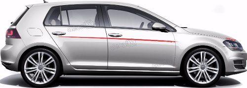Adesivo Faixa Lateral Volkswagen Golf Oettinger Golf10